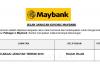 Maybank ~ Pelbagai Kekosongan Jawatan