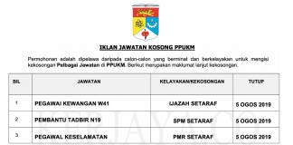 Permohonan Jawatan Kosong Terkini Pusat Perubatan Universiti Kebangsaan Malaysia (PPUKM)