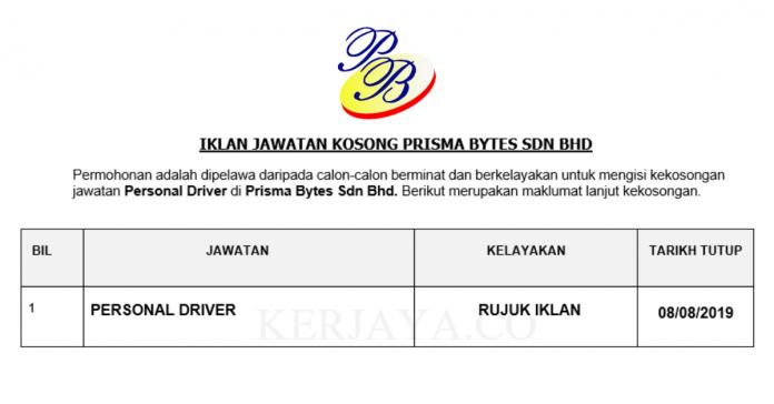 Prisma Bytes ~ Personal Driver