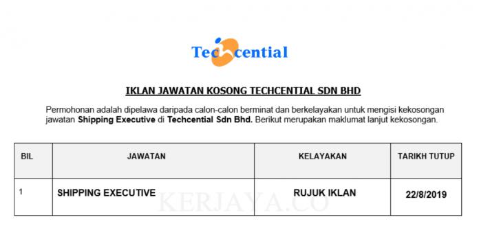 Techcential ~ Shipping Executive