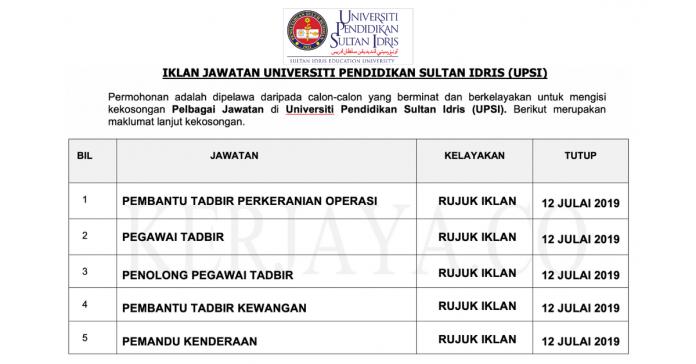 Universiti Pendidikan Sultan Idris (UPSI)