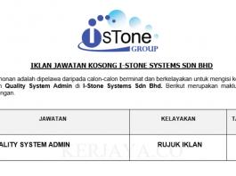 I-Stone Systems ~ Quality System Admin