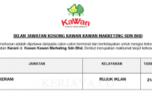 Kawan Kawan Marketing ~ Kerani