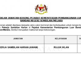 Pejabat Kementerian Pembangunan Luar Bandar Negeri Sembilan/Melaka