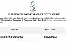 Resource Entity ~ Telemarketing Executive