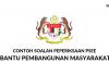 Soalan PSEE Pembantu Pembangunan Masyarakat S19