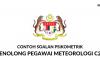 Soalan Psikometrik Penolong Pegawai Meteorologi C29