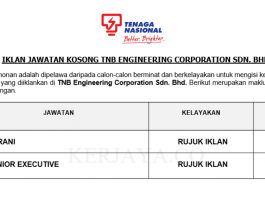 TNB Engineering Corporation ~ Kerani