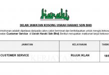 Usrah Haraki ~ Customer Service