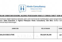Agensi Pekerjaan Hirelo Consultancy ~ Sales Executive
