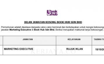 Book Hub ~ Marketing Executive