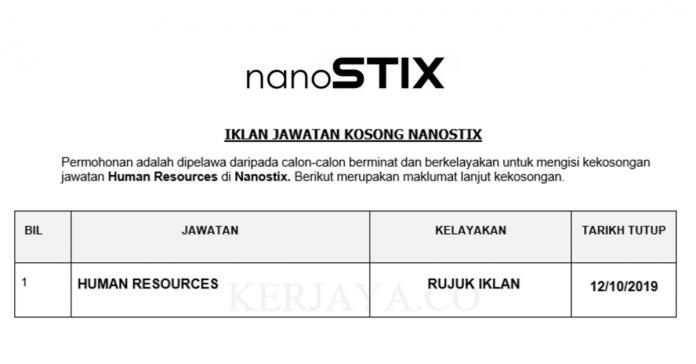 Nanostix ~ Human Resources
