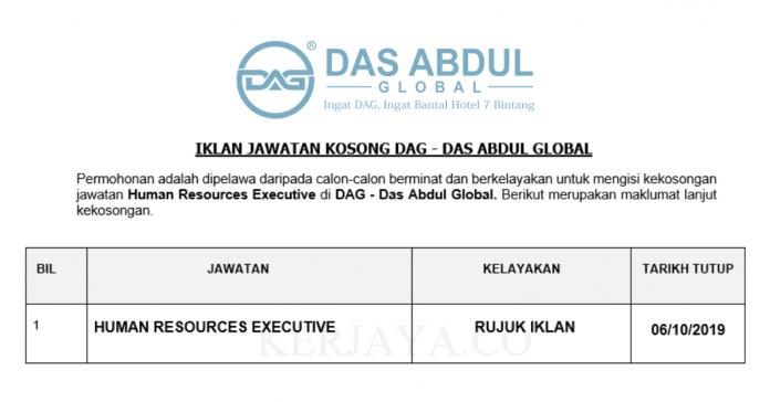 DAG - Das Abdul Global ~ Digital Marketing Executive