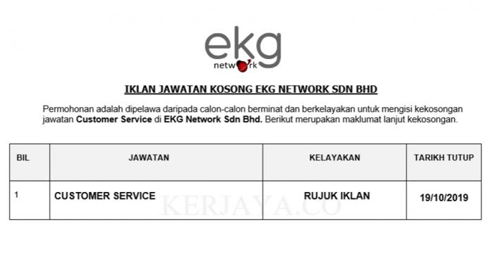 EKG Network ~ Customer Service