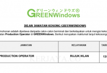 GREENWindows ~ Production Operator