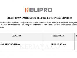 Helipro Enterprise ~ Kerani Pentadbiran