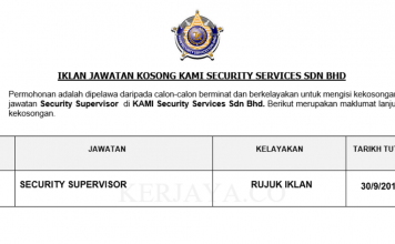 KAMI Security Services ~ Security Supervisor