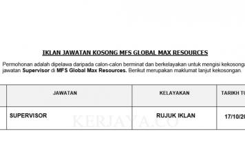 MFS Global Max Resources ~ Supervisor