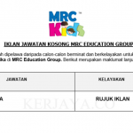 MRC Education Group ~ Guru Tadika