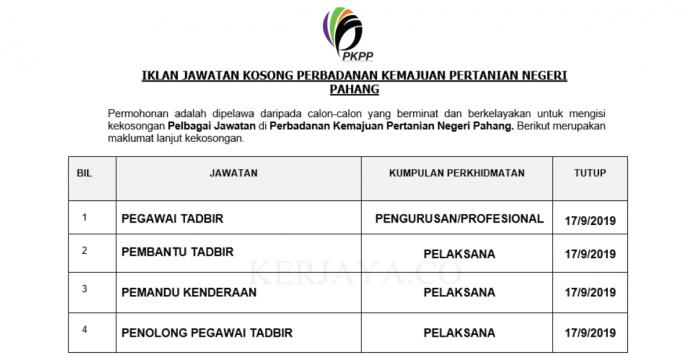 Perbadanan Kemajuan Pertanian Negeri Pahang