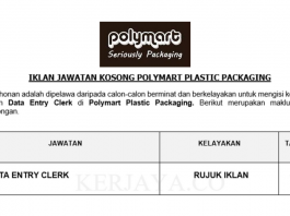 Polymart Plastic Packaging ~ Data Entry Clerk