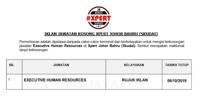 Xpert ~ Eksekutif Sumber Manusia