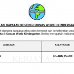 Canvas World Kindergarten ~ Guru Tadika