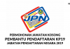 Jawatan Kosong Pembantu Pendaftaran KP19