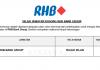 RHB Bank Group ~ Pelbagai Kekosongan Jawatan
