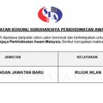563 Jawatan Baru Suruhanjaya Perkhidmatan Awam Malaysia ( SPA Malaysia)