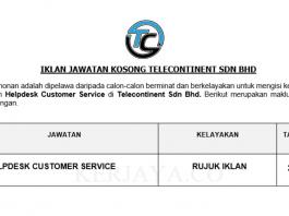 Telecontinent ~ Helpdesk Customer Service