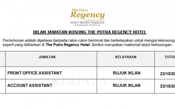 The Putra Regency Hotel ~ Front Office Assistant & Account Assistant