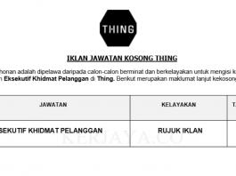 Thing ~ Eksekutif Khidmat Pelanggan