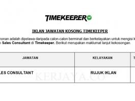 Timekeeper ~ Sales Consultant