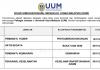 Universiti Utara Malaysia (UUM) ~ Pembantu Tadbir, Artis Budaya, Pembantu Kemahiran & Pelbagai Jawatan