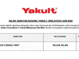 Yakult (Malaysia) ~ Sales Consultant