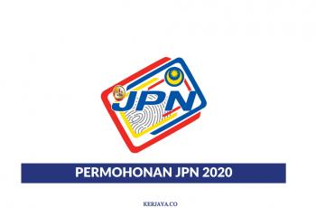 Cara Mohon Jawatan Kosong di Jabatan Pendaftaran Negara (JPN) (1)