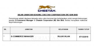 Cheetah Corporation (M) Sdn Bhd