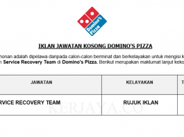 Domino's Pizza ~ Service Recovery Team