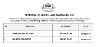 Jakel Trading ~ Company Secretary &Leasing Executive