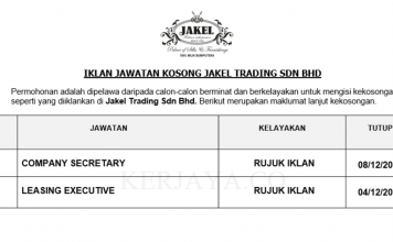 Jakel Trading ~ Company Secretary &Leasing Executive