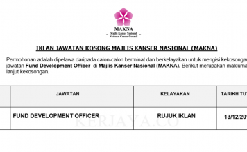 Majlis Kanser Nasional (MAKNA) ~ Fund Development Officer