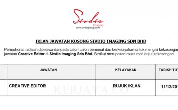 Sivdio Imaging ~ Creative Editor