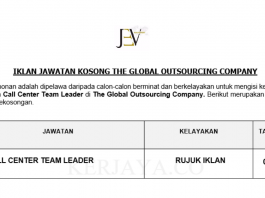 The Global Outsourcing Company ~ Call Center Team Leader
