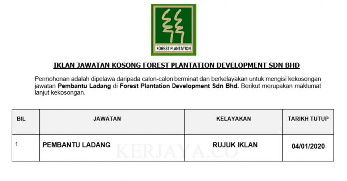 Forest Plantation Development ~ Pembantu Ladang
