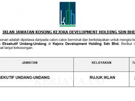 Kejora Development Holding Sdn Bhd