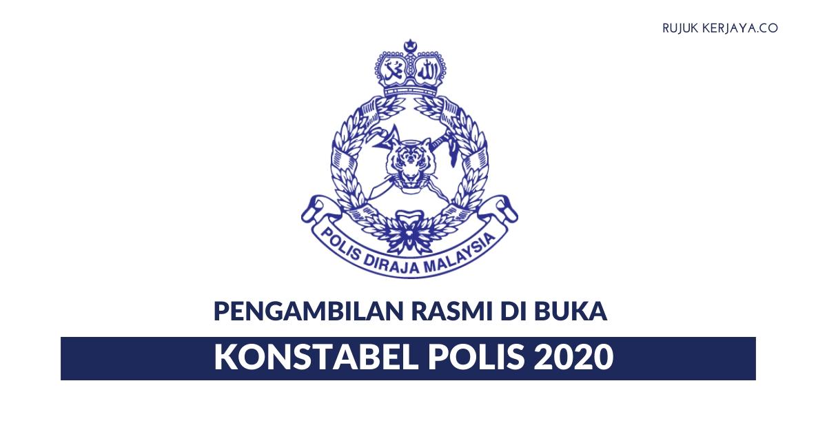 Pengambilan Polis PDRM Di Buka