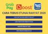 Cara Daftar & Tebus ETUNAI RM30 Kredit