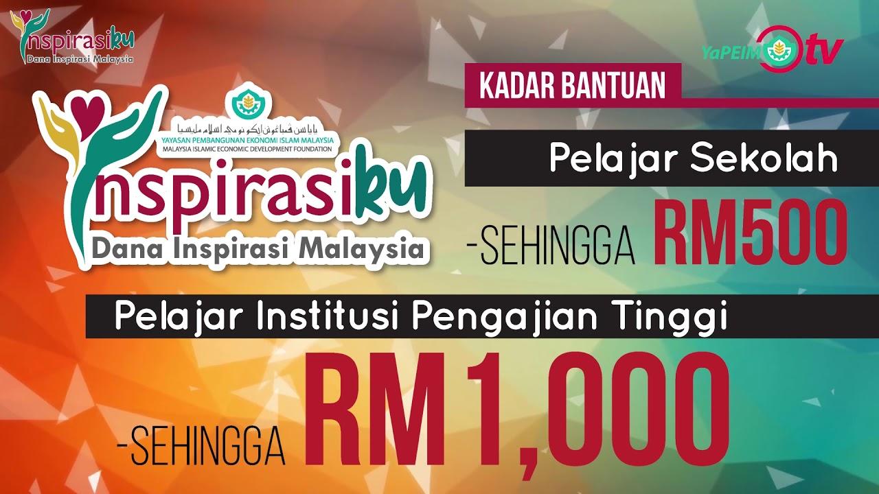 Mohon Dana Inspirasi Malaysia Inspirasiku Yapeim Download Borang Ini