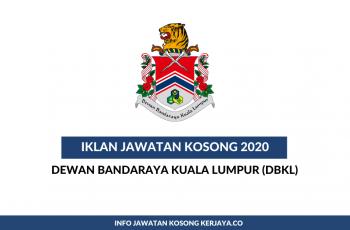 Dewan Bandaraya Kuala Lumpur (DBKL) ~ Penolong Juruukur, Penolong Jurutera Awam & Penolong Jurutera Elektronik